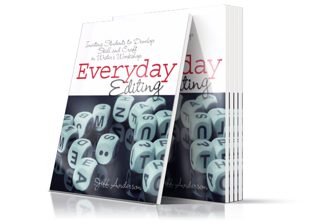 Everyday Editing Book Cover by Jeff Anderson