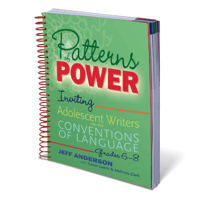 Patterns of Power 6 to 8 grade Book